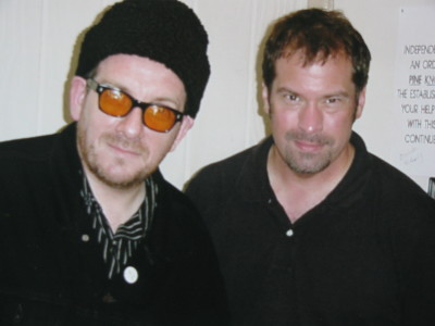 Martin with Elvis Costello 053094